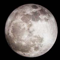 満月の月の出に合わせて回転